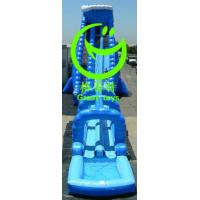 Quality giant inflatable water slide for sale with 24months warranty from GREAT TOYS for sale