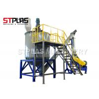 Buy cheap Gas Steam Hot Water Washing Machine For PET Flake Washing Line 500-1000kg/h from wholesalers