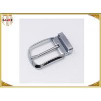 Buy Various Colors Noble Metal Belt Buckle , Solid Silver Color Belt Buckle at wholesale prices