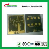 3 Layer TLY-9+HT1.5 SOFT GOLD Smt PCB Assembly Service with Black Solder