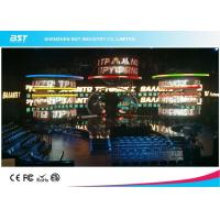 Quality Golden Ratio Led Curtain Display , High Transparent Stage Led Curtain Screen for sale
