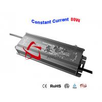 Quality Slim Constant Current Power Supply 12V 24V DC 80W Waterproof IP67 Bulb LED driver for sale