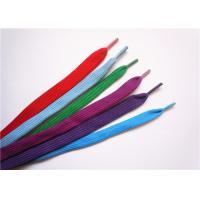 Buy Eco Friendly Elastic Wide Shoe Laces Extra Long Metal Aglet For Garment at wholesale prices