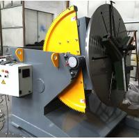 Quality T - Slots Manual Welding Positioners , 500 Diameter Welding Chuck Welding Positioner Turntable  for sale