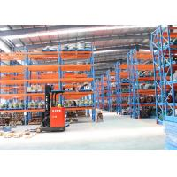 Quality Cold Roll Steel Pallet Storage Racks / Multi Tier Racking System 88*66*2.0 Mm Uprights for sale