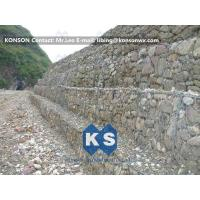 Quality Strong Welded Gabion Retaining Wall Stone Gabion Box For Roadway Protection for sale