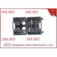 China Steel Iron Conduit Thread Die Set 20mm 25mm For GI Conduit With PVC Box on sale