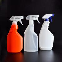 Quality 500ml HDPE plastic spray bottle for cleaning with reasonable price on hot sale for sale