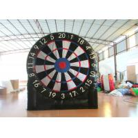 Quality Indoor Giant Inflatable Sports Games Inflatable Foot Darts 3 X 3.3m Digital Printing for sale