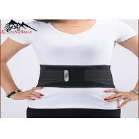 Quality Relieve Lumbar Pressure Waist Support Belt Breathable Magnet Removable Steel Plate for sale