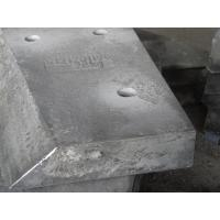Quality Hardness HRC58 White Metal Casting Cr18 Hopper Car Block Liners for sale