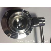 AISI304 Stainless Steel Sanitary Valves ASTM A270 Surface Polished for sale