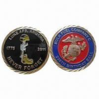 Quality Customs Coins for Navy, Marine, Army, Air Force, Coast Guard, Medicals, Schools, Churches, Companies for sale