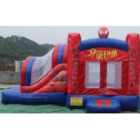 Quality 2016 hot sell  inflatable Spiderman bouncy castle for commercial use with 24months warranty for sale