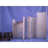 China Highway Guardrail Cold Rolled Steel Profiles Hot Dip Galvanized Surface Treatment on sale