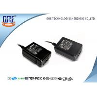 Quality OEM Black Desktop switchable power supply Input 240V AC Output 12V 1A for sale