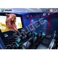 Quality Small Mobile 7D Movie Theater With 9 seats possess Intelligent 7D control system for sale