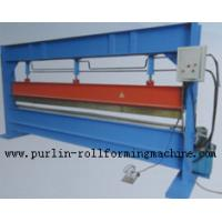 Quality Slitter Hydraulic Bending Machine with Color Steel Panel , Steel Pipe / Tube Bender for sale