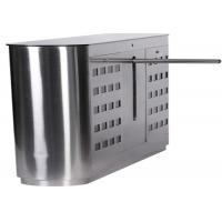 Buy 304 Stainless Steel Mechanical Antipinch Auto Drop Arm Turnstile at wholesale prices