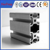 Quality Manufacture 99% pure alloy 6063 v-slot industrial aluminum profile, OEM ODM China aluminum for sale