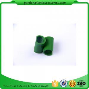 Quality 8mm Reusable Garden Cane Connectors Green Color Long Lasting for sale