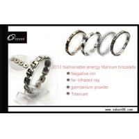 Quality Stress relief energy bracelet magnetic titanium bracelet CE, ROHS, ISO certificated GT-058 for sale
