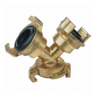 Buy cheap Forging Brass geka Couplings Y three way -20℃ to 120℃ Temperature Range from wholesalers