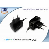 Quality GME Plastic 12V 500mA switching wall plug power supply CE ROHS  CB GS for sale