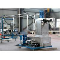 Quality Twin Screw Plastic Pellet Extruder With Underwater Cutting Pelletizing System for sale