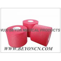 Quality No Adhesive Colored Breathable Porous Foam Underwrap Sports Pre Tape Red Athletic Tape for sale