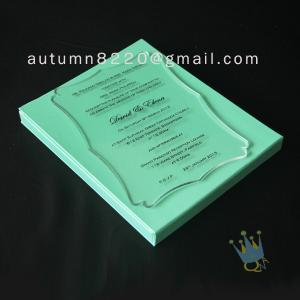 Quality attractive special design invitation for sale
