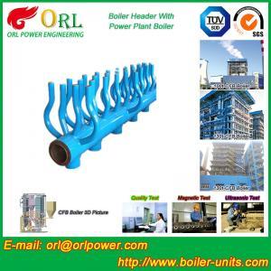 Quality Power Station Boiler Header Manifolds Oil Fired Boiler Unit TUV Certification for sale