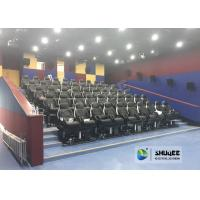 Quality Fast Return 5D Theater With Genuine Leather Electric 5D Seats In Business Center for sale
