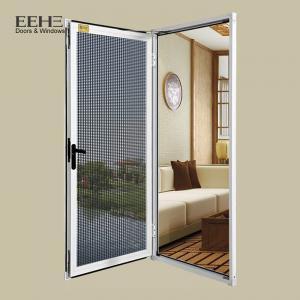 Quality Rectangle Aluminium Sash Windows , Stainless Net Anodized Bronze Aluminum Windows for sale