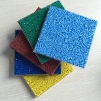 China Colored Sports Epdm Rubber Granules , Multi Purposed Colored Rubber Granules on sale