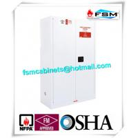 Quality Chemical Security Hazardous Storage Cabinets White With Electronic Lock for sale