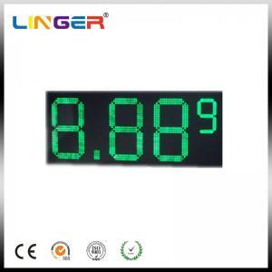 "Quality 10"" 8.889 7 Segments LED Gas Price Sign 110V ~ 240V AC 100000 Hours Life Span for sale"