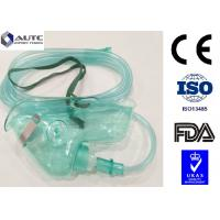 Quality Portable Nebulizer Disposable Medical Mask PVC Non Toxic Transparent Flexible for sale