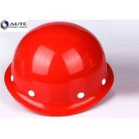 Quality Reinforced Safety Hard Hats High Strength Excellent Insulation Performance for sale