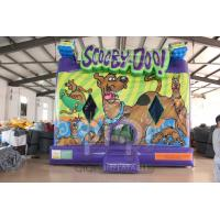 Quality Scooby Doo Inflatable Jumping House for sale