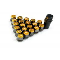 Quality Forged Aluminum Colored Lug Nuts Tightly Fit With Screw Tooth Never Fall Off for sale
