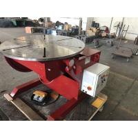 Quality Welding Rotating Table 1 Tonne Welding Positioners Remote Hand Control Box for sale