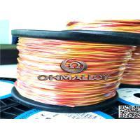 China 0.711mm Type K Thermocouple Cable With Double Fiberglass Insulated on sale