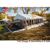 Buy cheap Luxury Waterproof Pvc Outdoor Event Tent With Glass Wall / Large Party Tents from wholesalers
