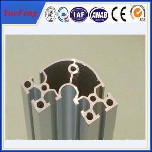 Quality oem aluminium extruded profile manufacturer/ electrophoresis aluminium corner profiles for sale