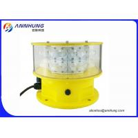 Quality FAA L856 IP67 Medium Intensity Type A LED Aviation Obstruction Light For High Construction for sale