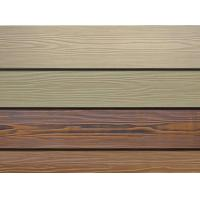 Quality Wood Grain Fiber Exterior Cement Board Siding , Cement Fiberboard Panels for sale