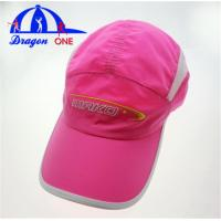 Quality Girls Adults College Baseball Caps With 100% Polyester Material Customized for sale