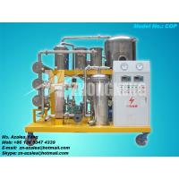 Quality Series COP Vacuum Used Cooking Oil Purifier for sale