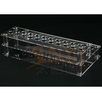Buy Customized Clear Acrylic Makeup Display Stand Lipstick Display Holder at wholesale prices